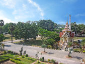 The monastic complex of Wat Chalong. Thailand. — Stock Photo