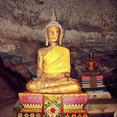 Buddha statue in the underground church. Thailand. — Stock Photo