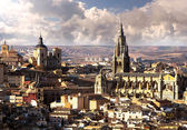 The Primate Cathedral of Saint Mary,Toledo — 图库照片