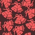Christmas Bells seamless pattern — Stock Vector #16404753