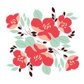 Flower arrangement — Stock Vector