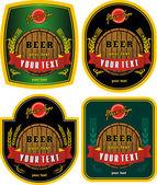 Марка пива — Cтоковый вектор
