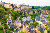 Luxembourg city — Stock Photo