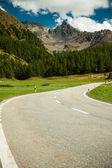 Bernina dağ geçidi — Stok fotoğraf