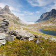 Trollstigen (Troll's road) Norway — Stock Photo