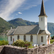 Church near in Norway — 图库照片