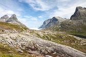 Trollstigen (Troll's road) Norway — Stock Photo