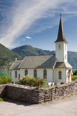 Church near in Norway — Stock Photo