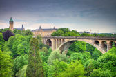 Luxembourg City Panorama — Stock Photo