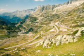 Mountain road, Sustenpass, Switzerland — Stock Photo
