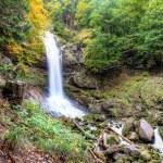 Giessbach Waterfalls in Autumn near Brienz, Berner Highlands, Switzerland — Stock Photo