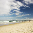 View to Gold coast beach in Australia — Stock Photo