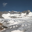 Rhone glacier, Furkapass, Switzerland — Stock Photo #34945915