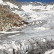 Rhone glacier, Furkapass, Switzerland — Stock Photo #34946039