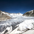 Rhone glacier, Furkapass, Switzerland — Stock Photo #34946151