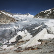 Stock Photo: Rhone glacier, Furkapass, Switzerland