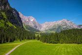 View to Swiss Alps from Engelberg, Switzerland — Stock Photo