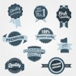 Royalty-Free Stock Vector Image: Vintage Quality Badges