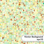 Tessellating Pastel Colored Abstract Background — Stock Vector