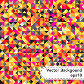 Tessellating Bright Colored Abstract Background — Stock Vector
