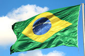 Brazilian flag — Stock Photo