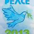 Dove - symbol of peace — Stock Photo