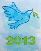 Dove – Symbol of Peace — Zdjęcie stockowe