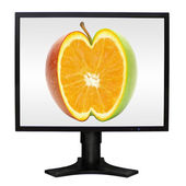 Monitor komputera — Zdjęcie stockowe
