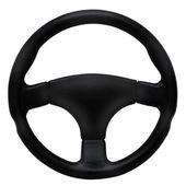 рулевое колесо, изолированные на белом фоне — Стоковое фото