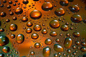 Water drops — Stockfoto