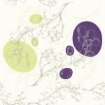 Grape background.Seamless pattern. — Stock Vector