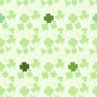 Seamless pattern with clover — Stock Vector #32938939