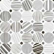 Seamless abstract monochrome pattern. — Stock Vector #50388805