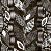 抽象的な葉のパターン — ストックベクタ
