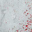 Royalty-Free Stock Photo: Red abstract paint splashes