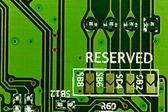 Scheda elettronica — Foto Stock