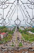 View of Vientiane from Patuxay Window. Laos. — Stock Photo