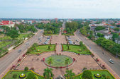 Central Vientiane. Laos. — Stock Photo