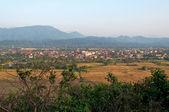 The beautiful landscape. Vang Vieng. Laos. — Stock Photo
