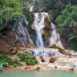 Kuang Si Waterfall. Luang Prabang. Laos. — Stock Photo