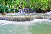 Kuang Si Waterfall. Luang Prabang. Laos. — Stock Photo