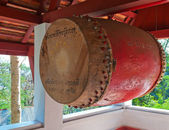 Buddhist Temple Gong. Luang Prabang. Laos. — Stock Photo