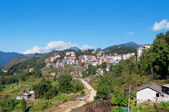 View of Sapa city. Vietnam — Stock Photo
