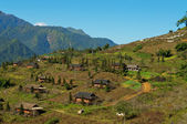 Village near Sapa city. Vietnam — Stock Photo