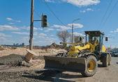Road Grader for road repairs. — Stock Photo