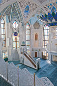 Kul Sharif mosque in Kremlin. Kazan. Russia. — Stock Photo