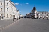 View of Kremlyovskaya street. Kazan. Russia — Stock Photo