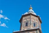 Dôme de la cathédrale saints pierre et paul. kazan. russie — Photo