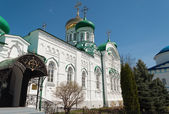 Trinity Cathedral of Raifa male Bogoroditssky Monastery. Tatars — Stock Photo