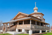 Trinity wooden church of John the Baptist Monastery. Sviyazhsk i — Stock Photo